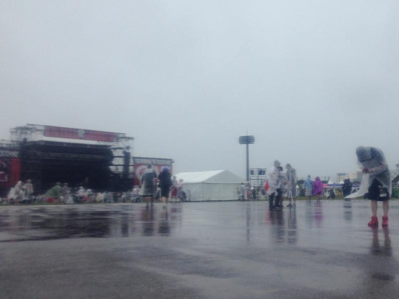 DPF雨の様子