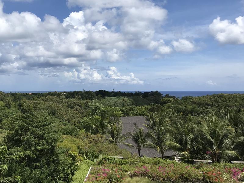 アヤナリゾートリンバホテルからの眺め