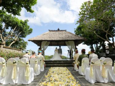 2018年4月バリ島・アヤナリゾートで結婚式をしました【海外挙式】