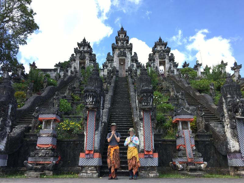 アジアっぽいランプヤン寺院