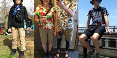野外ロックフェス、アラサー夫婦の服装事例