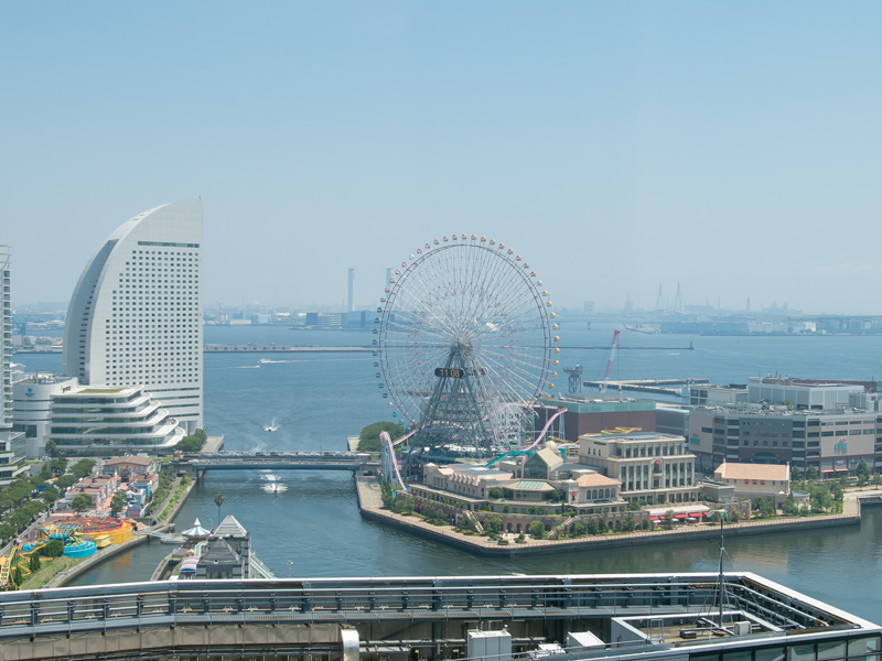 横浜モノリスからの景色