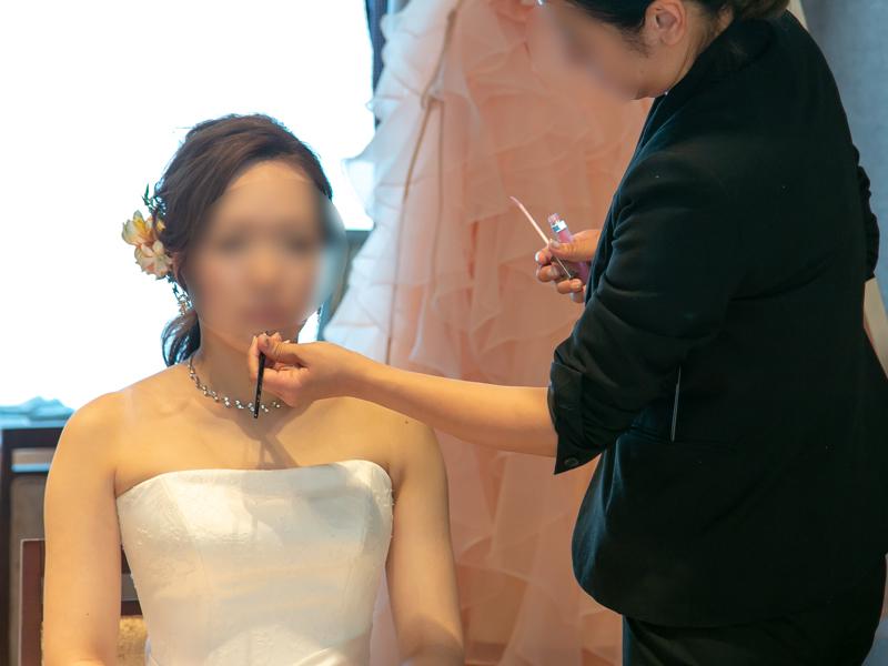 横浜モノリスの結婚式メイク