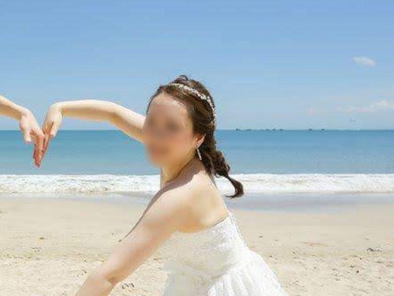 フィッシュボーンの花嫁髪型