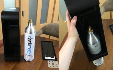 ドリンクメイトのガスが無くなったので宅配で回収交換してみた【drinkmate】