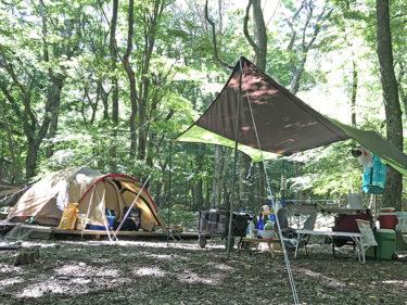 初めての2泊3日キャンプで準備したこと&失敗したこと@本栖湖SUMIKA