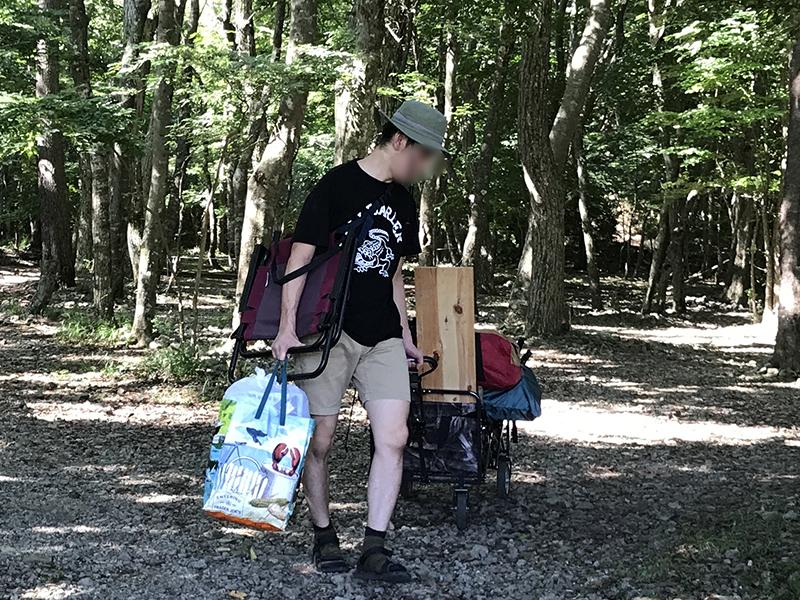 2泊3日キャンプの服装