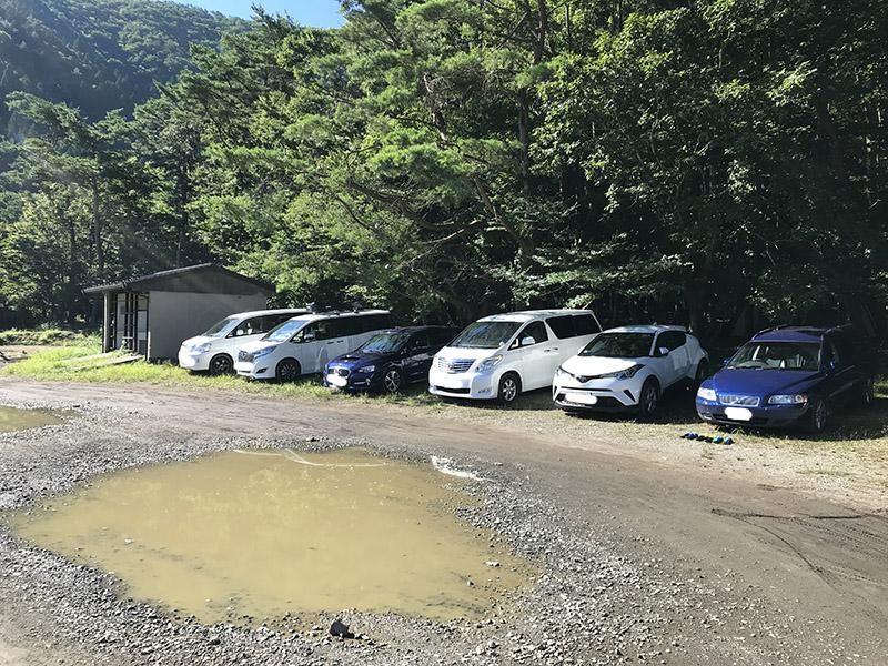スミカの駐車場