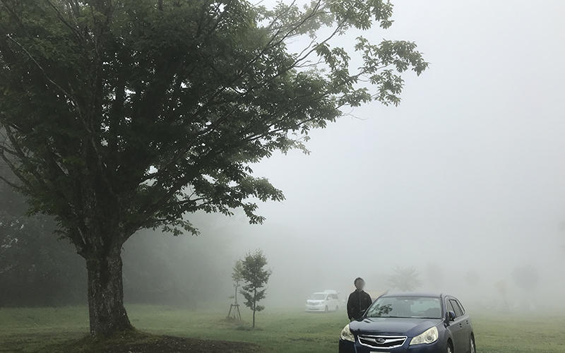 霧の戸隠キャンプ場