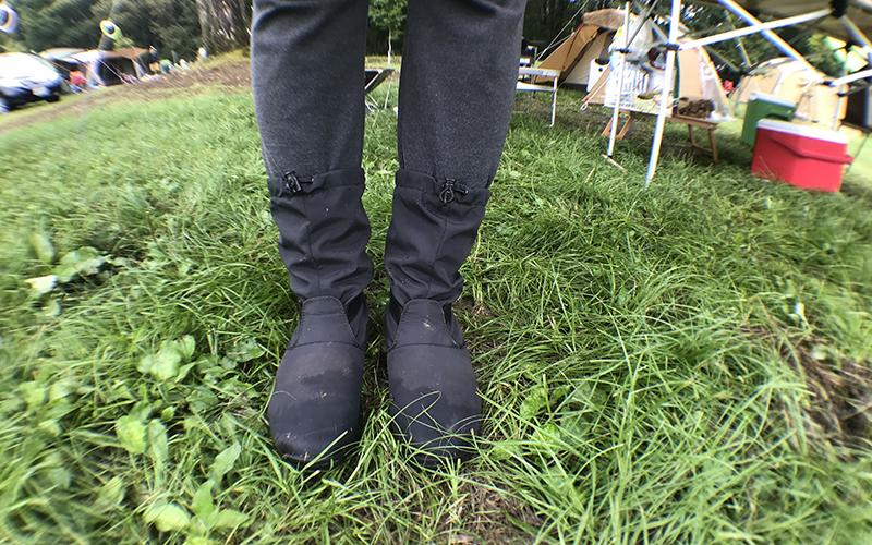戸隠キャンプ場に行くならレインブーツや長靴必携