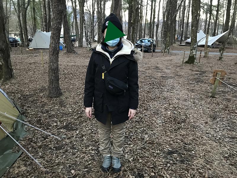 冬キャンプの服装