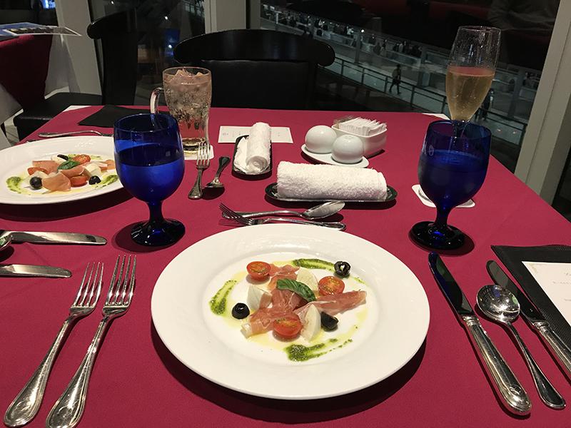 ニューオータニイン横浜プレミアムディナーコースの前菜