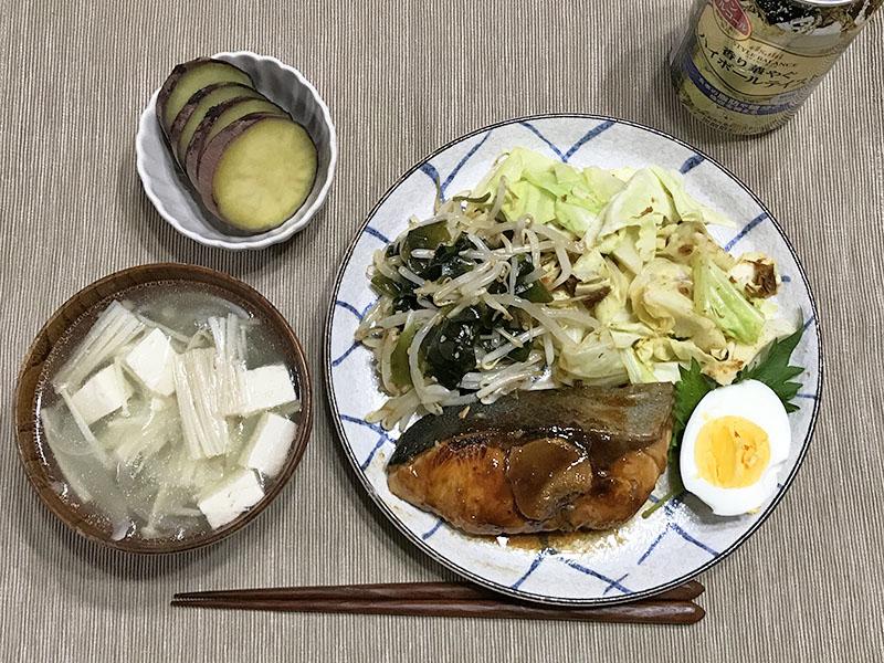 ダイエット中の夕食
