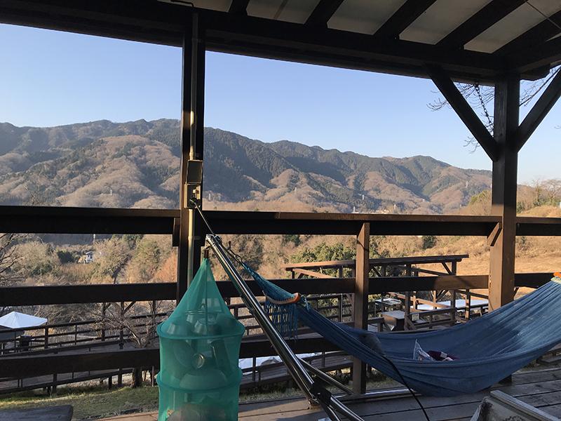 picaさがみ湖セットアップテントサイトからの眺め