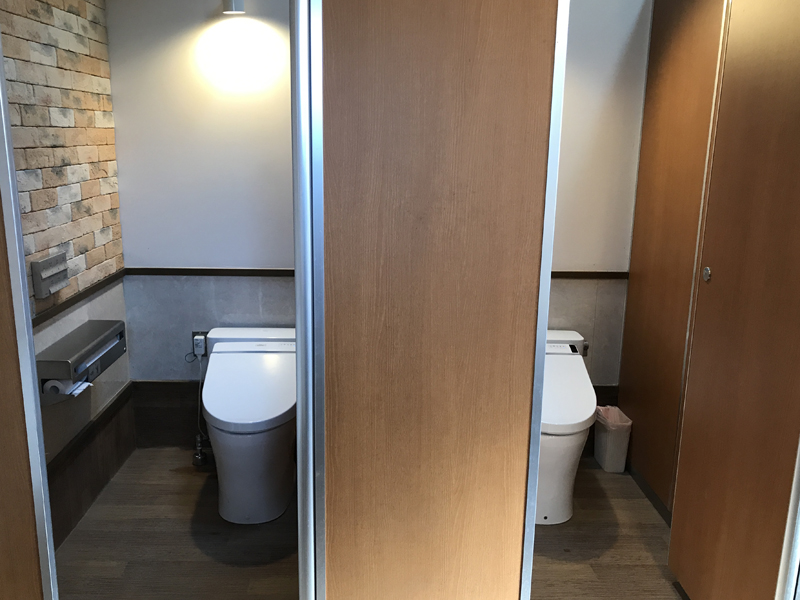 picaさがみ湖のトイレ
