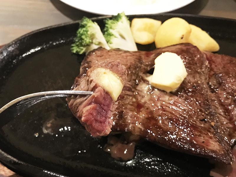 HAN'Sのステーキ