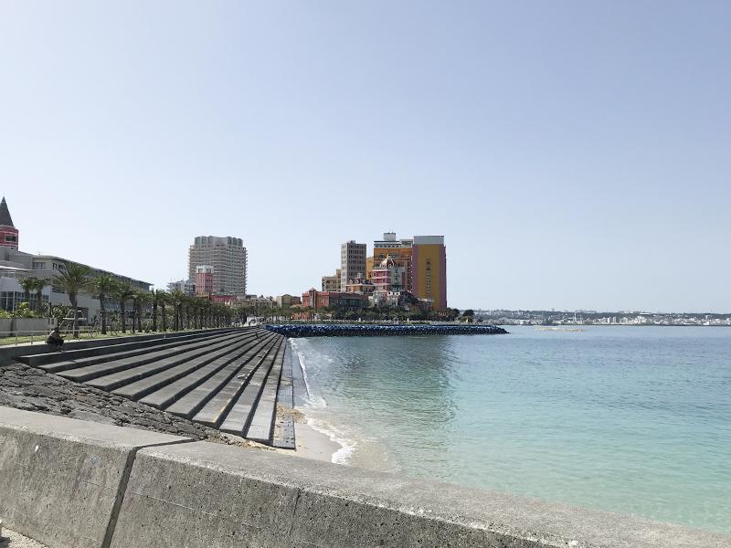 ベッセルホテルカンパーナ沖縄付近のランニングコース