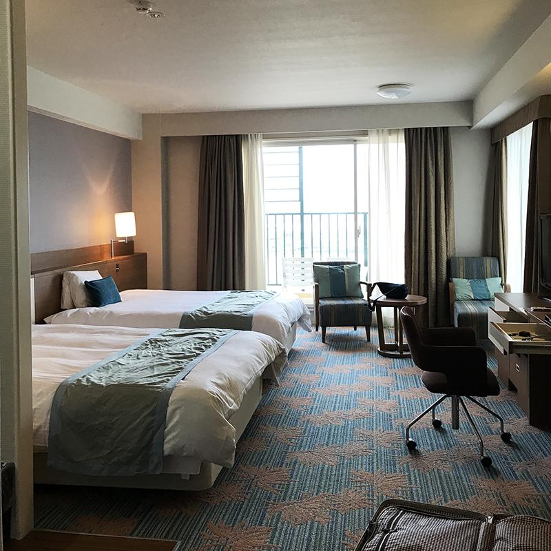 ベッセルホテルカンパーナ沖縄プレミアオーシャンビューツイン室内
