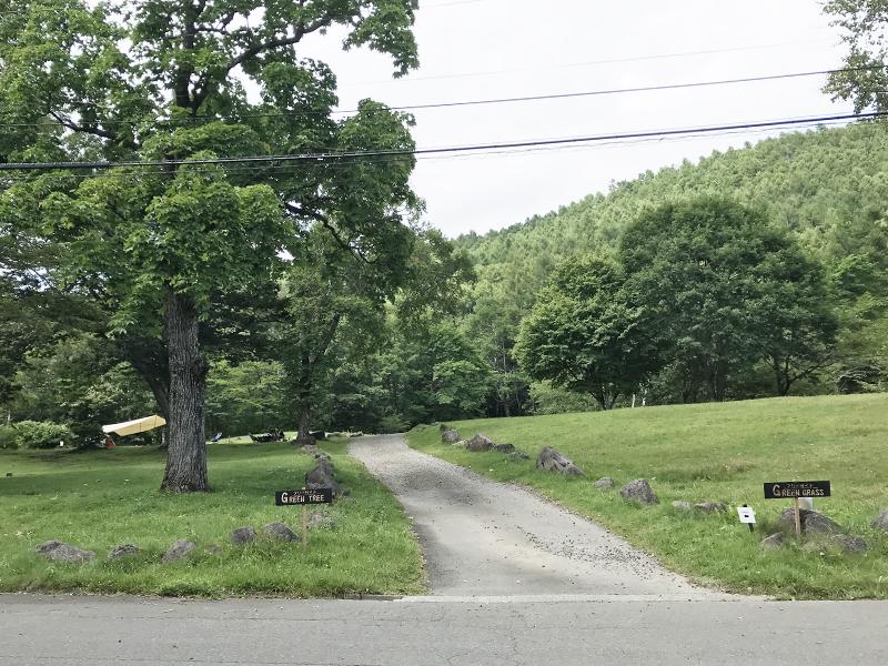 駒出池キャンプ場グリーンサイト